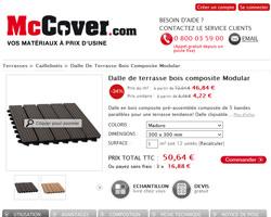 Une fiche produit de McCover