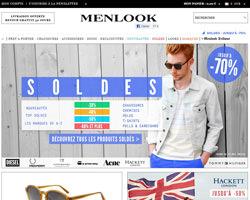 Page d'accueil de Menlook
