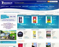 Page d'accueil de Michelin