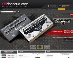 Page d'accueil de Michenaud