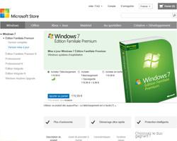 Une fiche produit de Microsoft Store