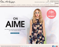 Page d'accueil de Miss Selfridge