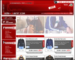 Page d'accueil de MODE-AVENIR
