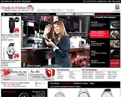 Page d'accueil de Mode-In-Motion