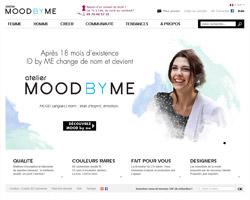 Page d'accueil de MOOD by me