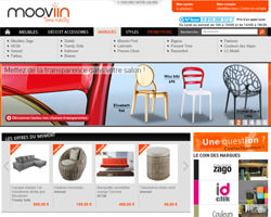 Page d'accueil de Mooviin