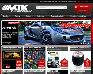 Page d'accueil de MTK Tuning