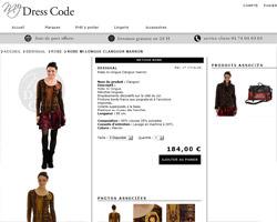 Une fiche produit de My Dress Code