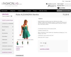 Une fiche produit de My Fashion Lab