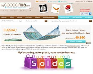 Page d'accueil de Mycocooning