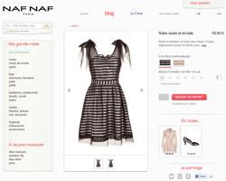 Une fiche produit de Naf Naf