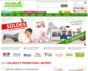Page d'accueil de Natiloo