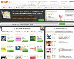 Page d'accueil de Navx