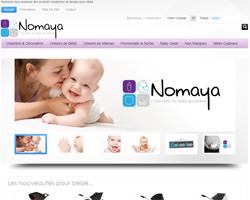 Page d'accueil de Nomaya
