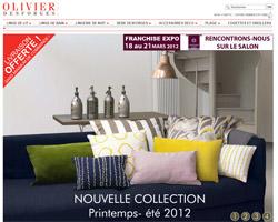 Page d'accueil de Olivier Desforge