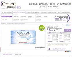 Une fiche produit de Optical Discount