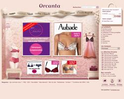 Page d'accueil de Orcanta