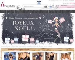 Page d'accueil de Orvelys Lingerie