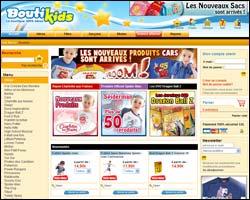 Page d'accueil de Panini Store