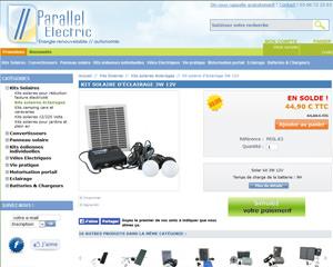 Une fiche produit de Parallel Electric