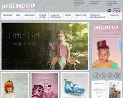 Page d'accueil de PetitHood