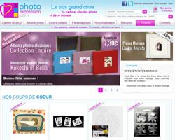 Page d'accueil de Photo Expression