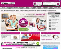 Page d'accueil de Photocite