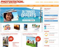 Page d'accueil de PhotoStation