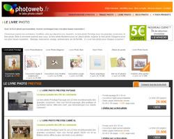 Une fiche produit de Photoweb