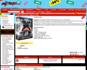 Une fiche produit de Plus de DVD