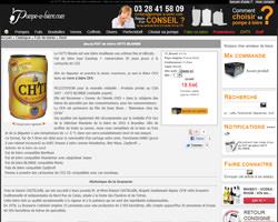 Une fiche produit de Pompe à bière