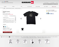 Une fiche produit de Quiksilver