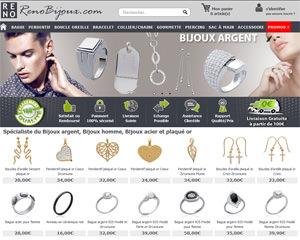 Page d'accueil de Renobijoux