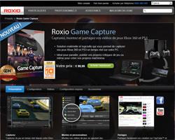 Une fiche produit de Roxio