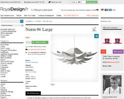 Une fiche produit de Royal Design