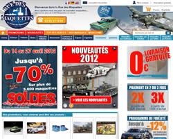 Page d'accueil de Rue des Maquettes