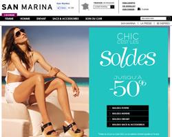 Page d'accueil de San Marina