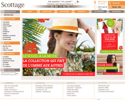 Page d'accueil de Scottage
