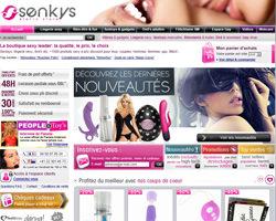 Page d'accueil de Senkys