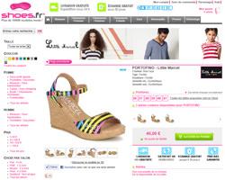 Une fiche produit de Shoes