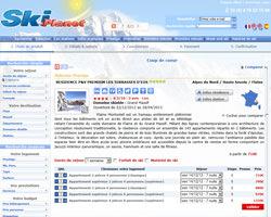 Une fiche produit de Ski Planet