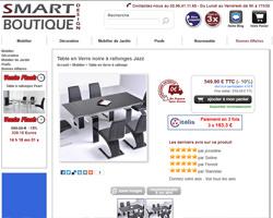 Une fiche produit de Smart boutique design