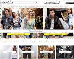 Page d'accueil de So Jeans
