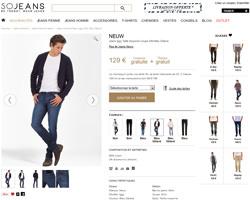 Une fiche produit de So Jeans
