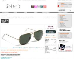 Une fiche produit de Solaris