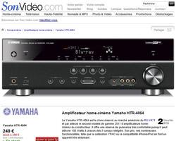 Une fiche produit de Son-Video.com
