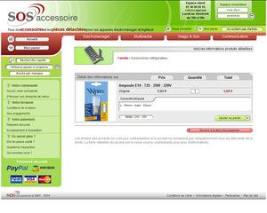 Une fiche produit de SOS Accessoire