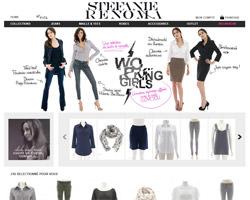 Page d'accueil de Stefanie Renoma