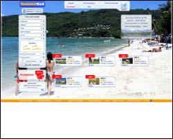 Page d'accueil de Summerbed