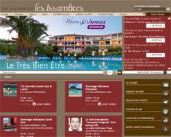 Page d'accueil de Thalasso Issambres